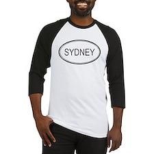 Sydney Oval Design Baseball Jersey