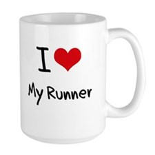I Love My Runner Mug