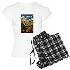 Vintage Yosemite Travel Pajamas