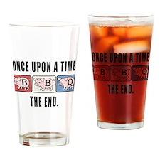 BBQ Fairy Tale Drinking Glass