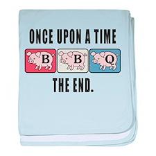 BBQ Fairy Tale baby blanket