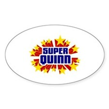 Quinn the Super Hero Decal