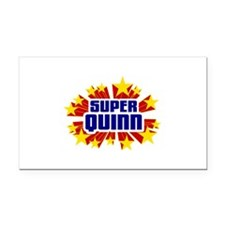 Quinn the Super Hero Rectangle Car Magnet