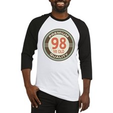 98th Birthday Vintage Baseball Jersey