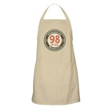 98th Birthday Vintage Apron