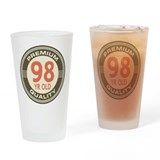 98th Birthday Vintage Drinking Glass
