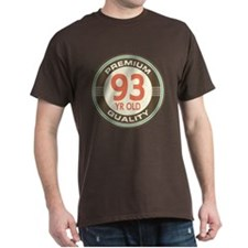 93rd Birthday Vintage T-Shirt