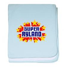 Ryland the Super Hero baby blanket