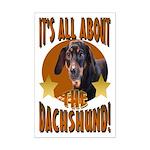 Dachshund Lover Mini Poster Print