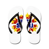 Semaj the Super Hero Flip Flops