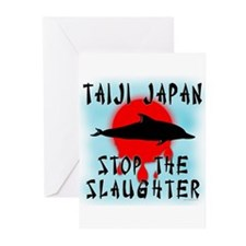 Taiji Slaughter Greeting Cards (Pk of 10)