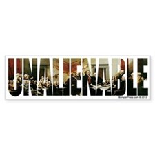 Unalienable 1776 Bumper Bumper Sticker