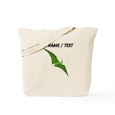 Custom Green Pterodactyl Tote Bag