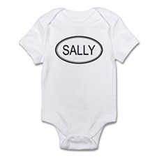 Sally Oval Design Infant Bodysuit