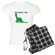 Custom Cartoon Dinosaur Pajamas