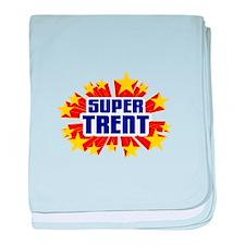 Trent the Super Hero baby blanket