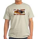 Dachshund Lover Ash Grey T-Shirt