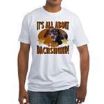 Dachshund Lover Fitted T-Shirt