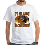 Dachshund Lover White T-Shirt