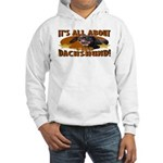 Dachshund Lover Hooded Sweatshirt