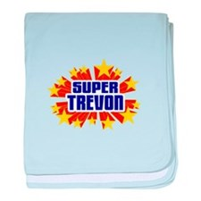 Trevon the Super Hero baby blanket