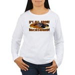 Dachshund Lover Women's Long Sleeve T-Shirt