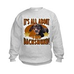 Dachshund Lover Kids Sweatshirt