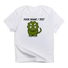 Custom Cartoon Triceratops Infant T-Shirt