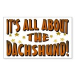 Dachshund Lover Rectangle Sticker