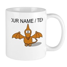 Custom Orange Pterodactyl Cartoon Mug