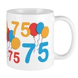 75 years old - 75th Birthday Small Mug