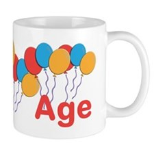 CUSTOMIZE NAME and AGE Birthday Small Mug