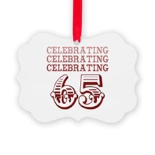 Celebrating 65! Ornament