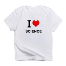 I Heart Science Infant T-Shirt