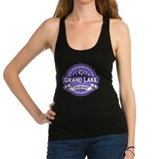 Grand Lake Violet Racerback Tank Top