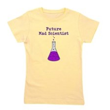 Future Mad Scientist Girl's Tee