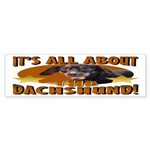 Dachshund Lover Bumper Sticker