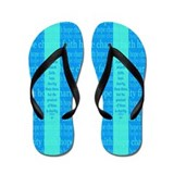 Faith Hope Charity Flip Flops