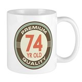 74th Birthday Vintage Coffee Mug