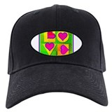 Groovy Love Baseball Hat