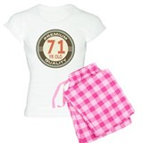 71st Birthday Vintage Pajamas