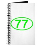 Number 77 Oval Journal