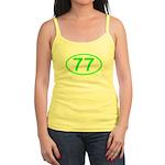Number 77 Oval Jr. Spaghetti Tank
