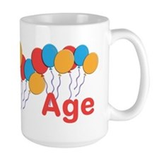 CUSTOMIZE NAME and AGE Birthday Mug