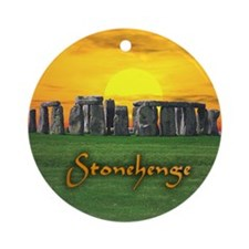 Stonehenge at Sunset - Ornament (Round)