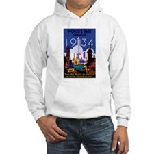 Chicago Worlds Fair 1934 Hoodie