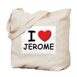 I love Jerome Tote Bag