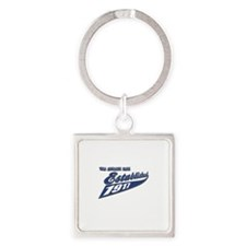 Established in 1917 Square Keychain