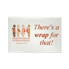 Theres a wrap for that! Rectangle Magnet (10 pack)