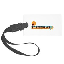 St. Pete Beach - Beach Design. Luggage Tag